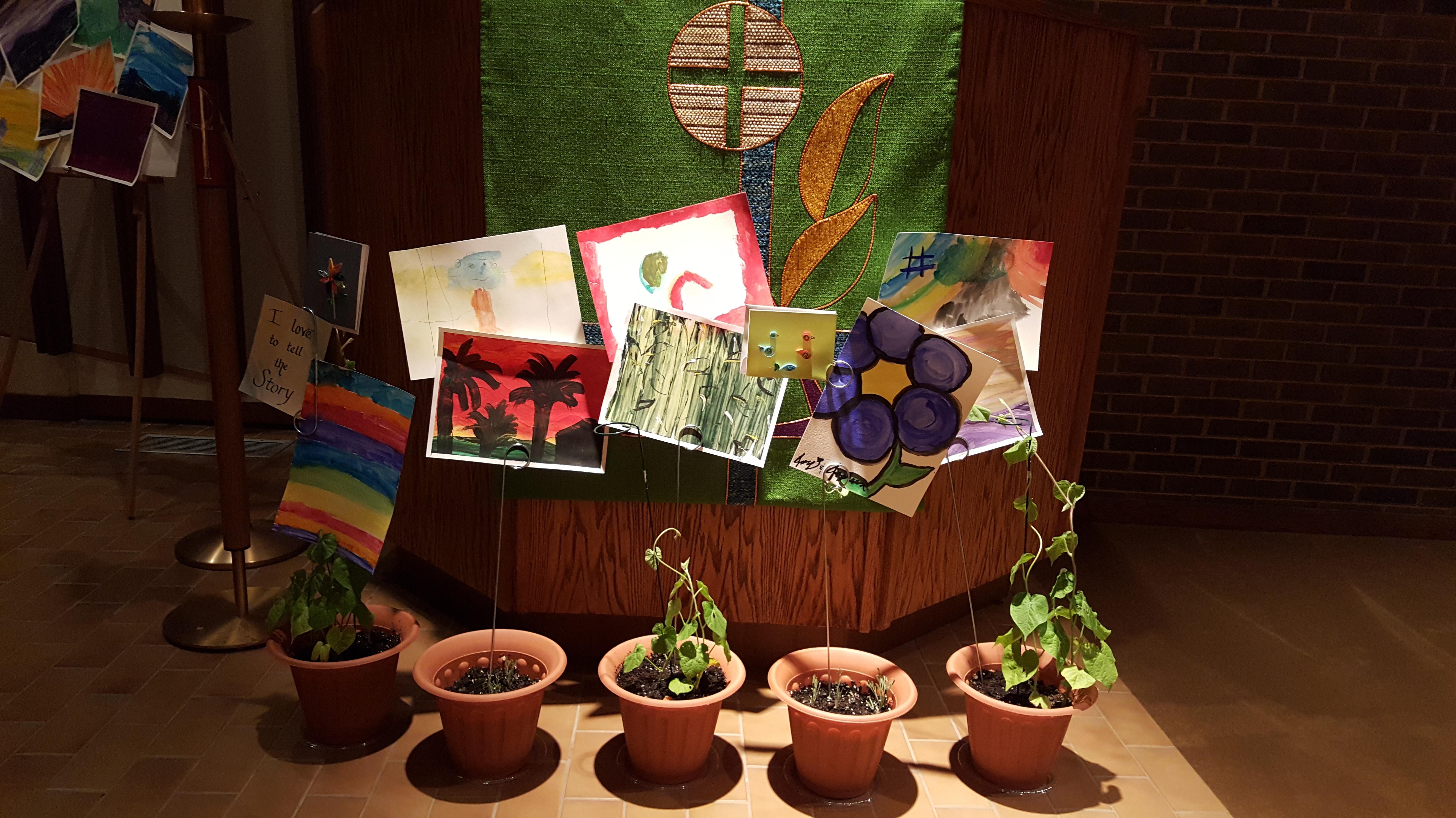 Sanctuary adorned 1